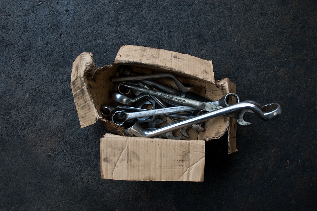 A box of large spanners
