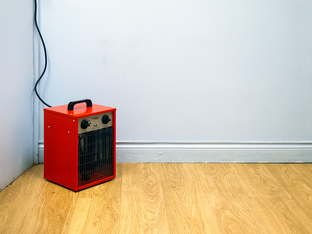 Fan heater, China Dragon, Malvern