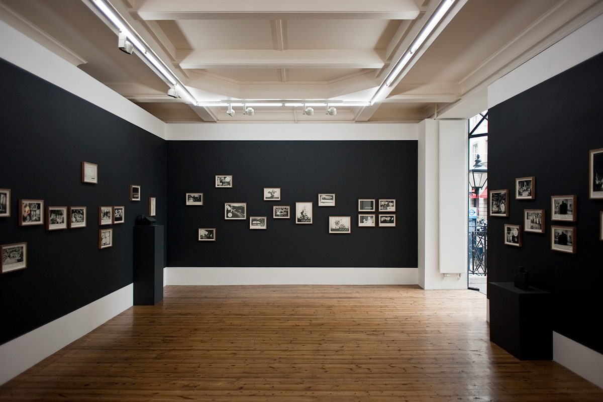 An installation shot of a Marcel van Eeden exhibition at Sprueth Magers, London