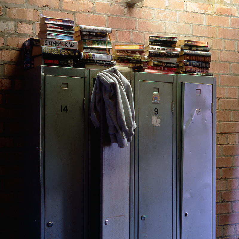 Staff lockers at Robinson's Brewery