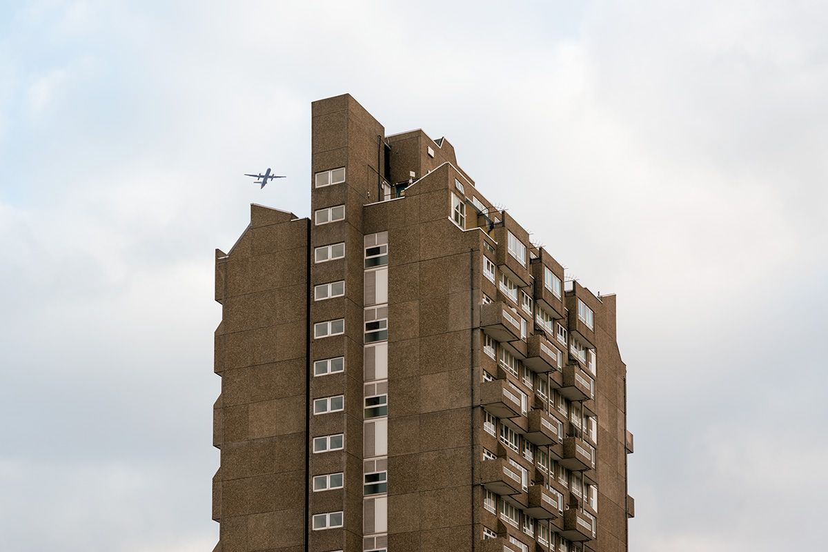 Holland Rise House, a residential tower block in Oval, Kennington, south London
