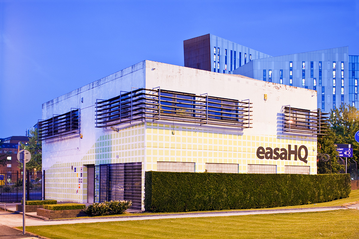 The headquarters of EASA, the European Architecture Students Assembly