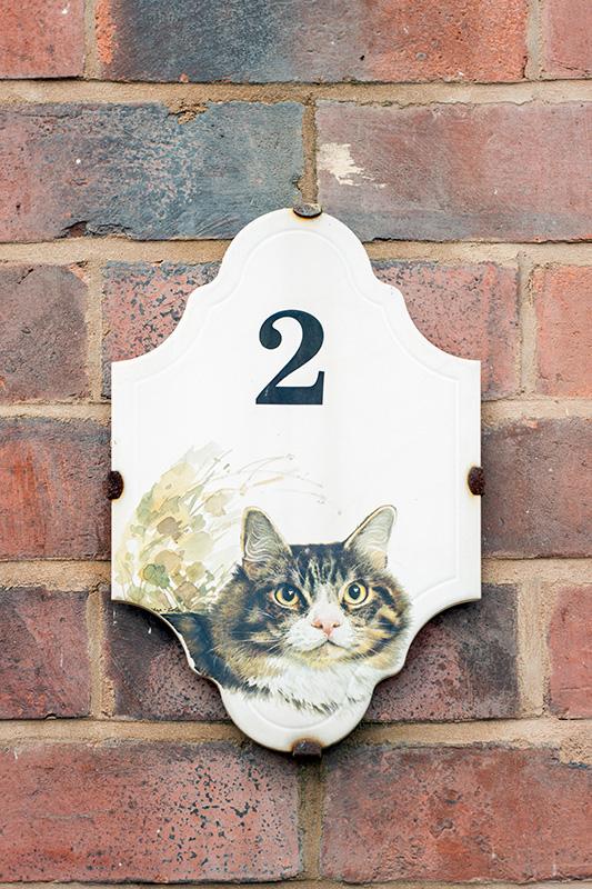 Cat door sign, Oldbury
