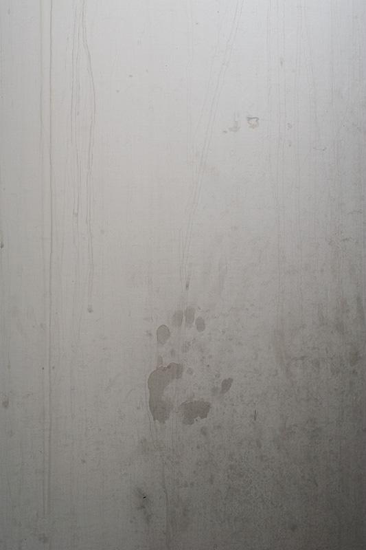 Handprint on a fermenting vessel, Black Isle Brewery