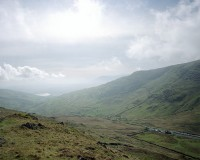 A large format photograph of the Kirkstone Pass Inn in the Lake District. This photograph is part of a series on isolated inns.