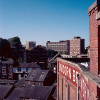 Stockport from the roof of Robinson's Unicorn Brewery