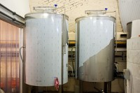 New fermenting vessels at Marble Beer's new brewery