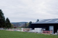 Black Isle Brewery and surrounding farmland