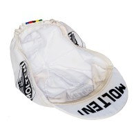 Molteni cycling cap with world champion stripes