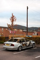 Burnt BMW, Malvern Link
