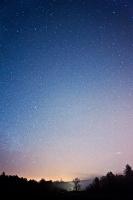 Stars above Old Allangrange, facing Munlochy
