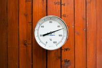 Hot liquor tank thermometer